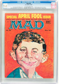 Magazines:Mad, MAD #39 (EC, 1958) CGC NM 9.4 Off-white to white pages....