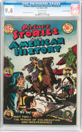 Golden Age (1938-1955):Non-Fiction, Picture Stories From American History #2 Gaines File pedigree 4/11(EC, 1946) CGC NM 9.4 Off-white pages....
