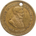 Political:Tokens & Medals, Civil War: Lincoln Gettysburg Veteran Dog Tag....