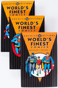 Books:Superhero, DC Archive Editions - World's Finest Comics #1-3 Group (DC,1999-2005) Condition: Average NM-.... (Total: 3 Items)