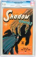 Golden Age (1938-1955):Crime, Shadow Comics V5#9 (Street & Smith, 1945) CGC VF/NM 9.0 White pages....