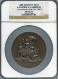 Expositions and Fairs, 1885-1886 North Central and South American Exposition, New Orleans, MS62 Brown NGC....