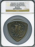 Expositions and Fairs, 1904 Louisiana Purchase Exposition Award Medal, Hendershott-30-70,MS64 Brown NGC....