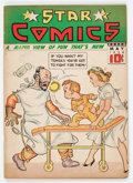 Golden Age (1938-1955):Miscellaneous, Star Comics #12 (Centaur, 1938) Condition: VG+....