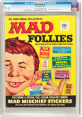 Magazines:Mad, MAD Follies #3 (EC, 1965) CGC NM+ 9.6 Off-white to white pages....