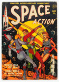 Golden Age (1938-1955):Science Fiction, Space Action #1 (Ace, 1952) Condition: VG....