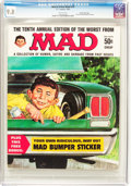 Magazines:Mad, Worst From Mad #10 Gaines File Pedigree (EC, 1967) CGC NM/MT 9.8White pages....