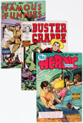 Golden Age (1938-1955):Miscellaneous, Famous Funnies Related File Copy Group of 12 (Eastern Color, 1940s-50s) Condition: Average VF+.... (Total: 12 Comic Books)