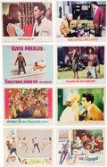 Music Memorabilia:Posters, Elvis Presley - Group Of Nine Sets Of Lobby Cards For VariousMovies (1960s)....