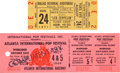 Music Memorabilia:Tickets, Led Zeppelin - Pair of Two Concert Tickets (1969/71)....