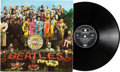 Music Memorabilia:Recordings, Beatles Sgt. Pepper's Lonely Hearts Club Band Ultra-Rare UK First Pressing Unbanded Stereo LP (UK - Parlophone PCS 7027, 1967)...