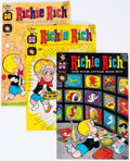 Silver Age (1956-1969):Humor, Richie Rich File Copies Group of 98 (Harvey, 1965-86) Condition: Average NM-.... (Total: 98 Comic Books)