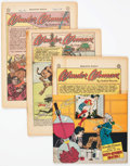 Golden Age (1938-1955):Miscellaneous, Comic Books - Assorted Golden-Silver Age Comics Group of 13 (Various Publishers, 1940s-60s) Condition: Coverless.... (Total: 13 Comic Books)