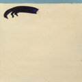 Art, Fritz Scholder (American, 1937-2005). Sleeping Cat, 1966...