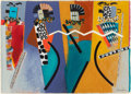 American Indian Art, Dan Namingha (American, b. 1950). Ceremonial Dance, Series V...
