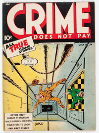 Crime Does Not Pay #34 (Lev Gleason, 1944) Condition: FN