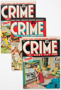 Golden Age (1938-1955):Crime, Crime Does Not Pay #53 and 55-59 Group (Lev Gleason, 1947-48).... (Total: 6 Comic Books)