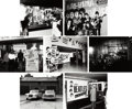 Music Memorabilia:Photos, Beatles - Seven Large Format Photos of Beatles Displays (Germany,circa mid-1960s).... (Total: 7 )