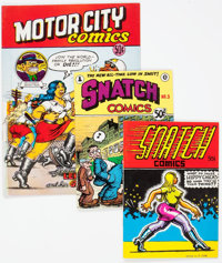 Underground Comix Group of 50 (Various Publishers, c. 1970s) Average Condition: FN.... (Total: 50 Comic Books)