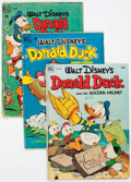 Golden Age (1938-1955):Cartoon Character, Four Color - Donald Duck Group of 4 (Dell, 1948-52) Condition:Average FR.... (Total: 4 Comic Books)