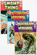 Bronze Age (1970-1979):Horror, Swamp Thing Group of 7 (DC, 1972-74) Condition: Average VG/FN....(Total: 7 Comic Books)
