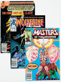 Modern Age (1980-Present):Miscellaneous, Modern Age Key Comics Group of 59 (Various Publishers, 1980s) Condition: Average VF.... (Total: 59 Comic Books)