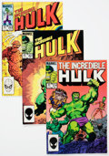Modern Age (1980-Present):Superhero, The Incredible Hulk #293-315 Multiple Copies Near Complete RangeShort Box Group (Marvel, 1984-86) Condition: Average VF/NM....