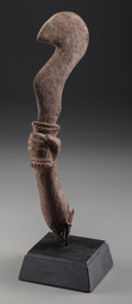 Tribal Art, POSSIBLY AKAN, Ghana. Fragmentary Sculpture... (Total: 2 Items)