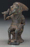 Tribal Art, UNIDENTIFIED ETHNIC GROUP, Cameroon. Seated Figure...