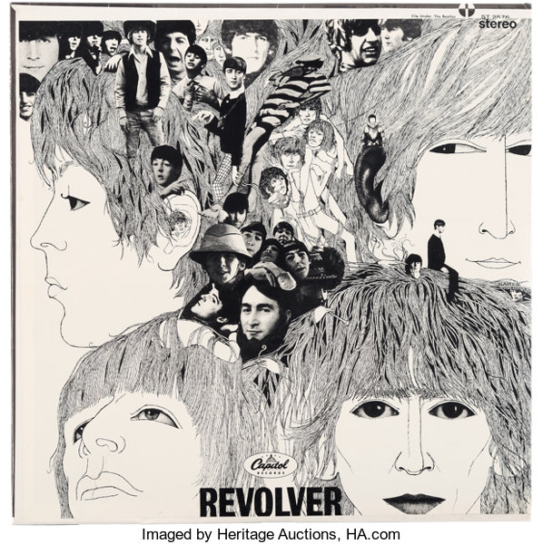 Beatles Revolver Sealed Stereo LP (Capitol ST 2576, 1966