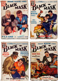 Pulps:Detective, Black Mask Group of 8 (Fictioneers Inc., 1935-37) Condition:Average GD/VG.... (Total: 8 Items)