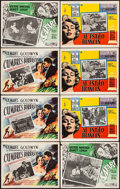 "Movie Posters:Romance, Wuthering Heights & Others Lot (Samuel Goldwyn, R-1960s). Mexican Lobby Cards (47) (11"" X 14"" & approx. 13"" X 16.5""). Romanc... (Total: 47 Items)"