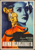 """Movie Posters:Foreign, The Hour of Truth (Vox Film, 1947). Italian Foglio (27.5"""" X 39""""). Foreign.. ..."""