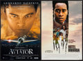 "Movie Posters:Drama, The Aviator & Others Lot (Warner Brothers, 2004). Mini Posters (135) (11"" X 17"" & approx. 13.5"" X 20""). Drama.. ... (Total: 135 Items)"