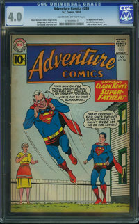 Adventure Comics #289 (DC, 1961) CGC VG 4.0 LIGHT TAN TO OFF-WHITE pages