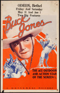 "Movie Posters:Western, Buck Jones (Universal, 1936). Stock Window Card (14"" X 22""). Western.. ..."