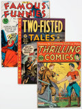 Golden Age (1938-1955):Miscellaneous, Comic Books - Assorted Golden Age Comics Group of 3 (Various Publishers, 1940s-50s) Condition: GD/VG.... (Total: 3 Comic Books)