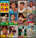 """Baseball Cards:Lots, 1957-63 Signed Baseball Card """"Hitters"""" Collection (12)...."""