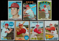 Baseball Cards:Lots, 1965-72 Topps Baseball Pete Rose Collection (7)....