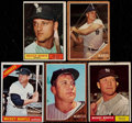 Baseball Cards:Lots, 1961-66 Topps Mantle & Maris Collection (5)....