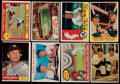 Baseball Cards:Lots, 1957-61 Topps Mickey Mantle Collection (8)....