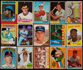 Baseball Cards:Lots, 1958-76 Topps Baseball Stars & HoFers Collection (15)....