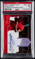 Baseball Cards:Singles (1970-Now), 2005 Ultimate Collection Ultimate Materials Autograph David Ortiz #UG-DO PSA NM 7....
