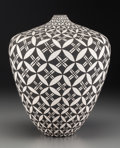 American Indian Art:Pottery, An Acoma Black-On-White Jar . Dorothy Torivio. c. 1980. ...