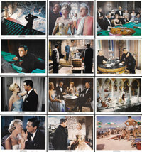 """To Catch a Thief (Paramount, 1955). Color Still Set of 12 (8"""" X 10"""").... (Total: 12 Items)"""
