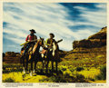 "Movie Posters:Western, The Searchers (Warner Brothers, 1956). Color Stills (2) (8"" X 10""). ... (Total: 2 Items)"