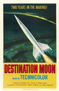 "Movie Posters:Science Fiction, Destination Moon (Pathe', 1950). One Sheet (27"" X 41""). ..."
