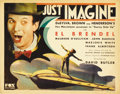 "Movie Posters:Science Fiction, Just Imagine (Fox, 1930). Title Lobby Card and Lobby Cards (2).(11"" X 14"").... (Total: 3 Items)"