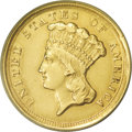 Three Dollar Gold Pieces: , 1854-D $3 --Improperly Cleaned--NCS. AU Details. The 1854-D is awidely recognized 19th century rarity. The '54-O is the onl...