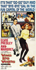 "Movie Posters:Elvis Presley, Viva Las Vegas (MGM, 1964). Three Sheet (41"" X 81"")...."